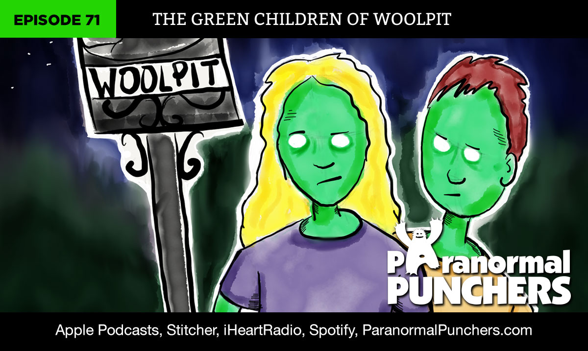 Green Children of Woolpit Aliens Paranormal